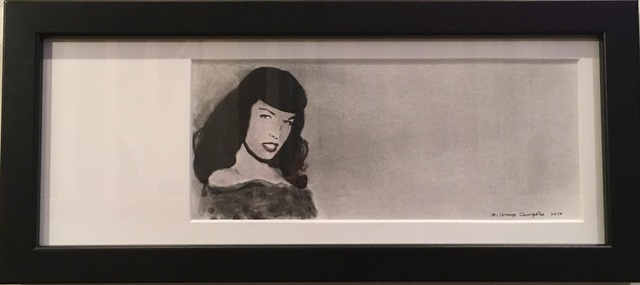 F. Lennox Campello, 'Bettie Page', 2016, Zenith Gallery