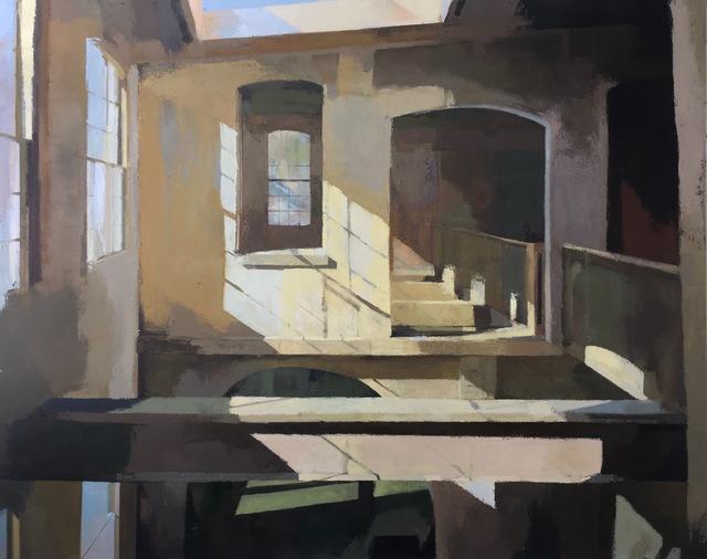 , 'Woolen Mill Winter,' 2017, Linda Matney Gallery