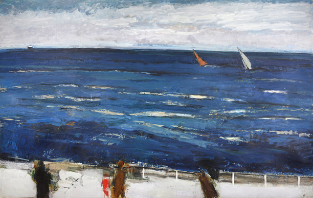 , 'NORTH SEA OOSTENDE ,' 1987, Chris Beetles Gallery