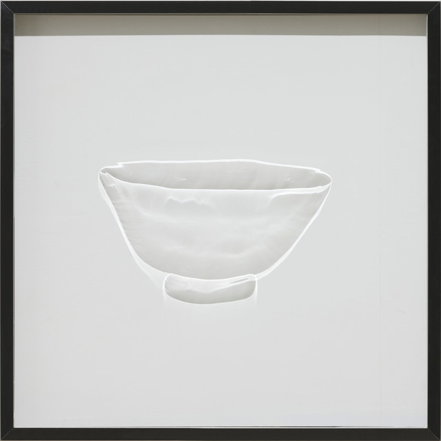 , 'Bowl with Wavy Line(Joseon)粉靑沙器彫花線文鉢,' 2014, Gallery 3