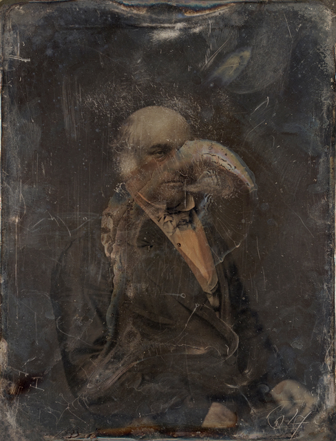 Michael Huey, 'Elgin, Based on a damaged 1850s/60s Daguerreotype by Mathew Brady', Galerie Reinthaler