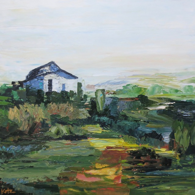 , 'White Barn,' 2017, Seager Gray Gallery