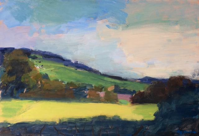 , 'The Yellow Field,' 2019, Valley House Gallery & Sculpture Garden