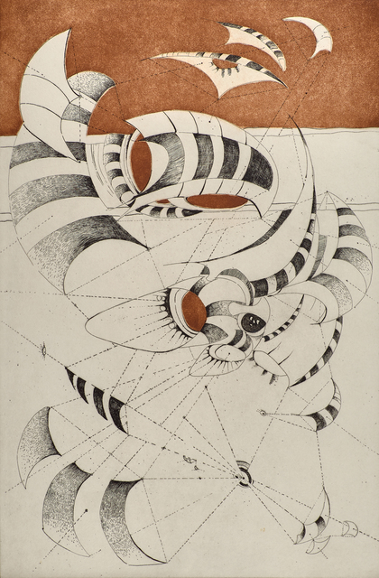Lee Bontecou, 'Untitled from the National Collection of Fine Arts portfolio', 1967, Rago
