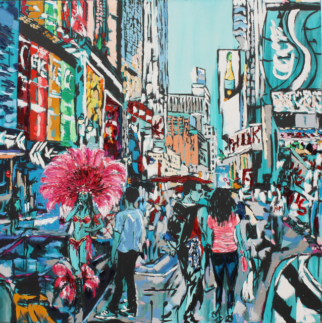 Brooke Harker, 'Vacation in the City', 2019, Castelli Art Space