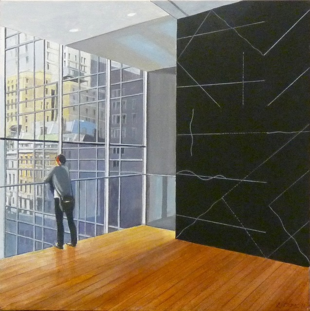 Richard Haas, 'MOMA with LeWitt (Museum of Modern Art with Sol Lewitt)', 2015-2016, Alpha 137 Gallery