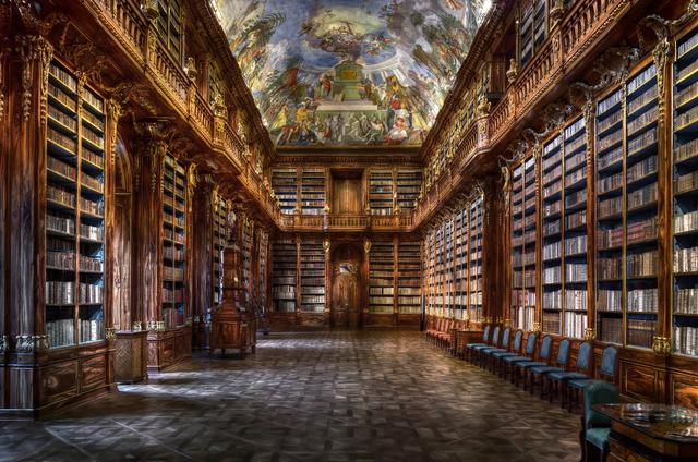 Christian Voigt, 'Philosophical Hall - Strahov Monastery, Czech Republic | Prague', 2015, UNIX Gallery