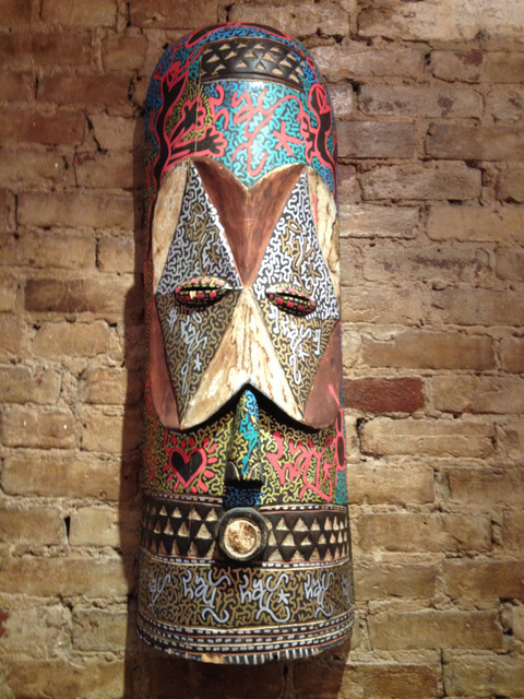 LA II (Angel Oritz), 'Tribal Mask', 2012, Dorian Grey Projects