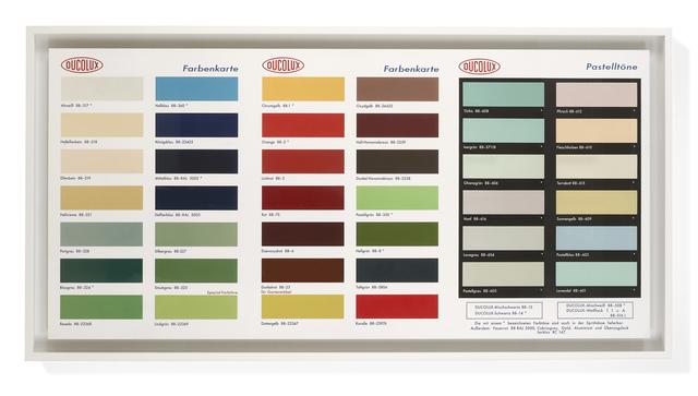 Damien Hirst, 'Colour Chart', 2017, DELAHUNTY
