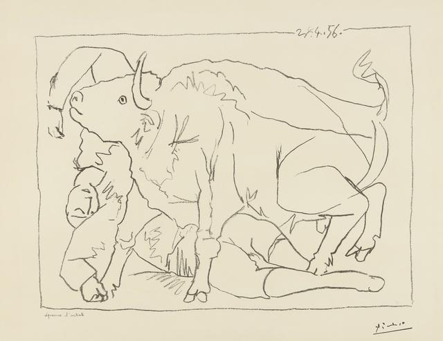 Pablo Picasso, 'Le Torero blessé (B. 799; M. 276)', 1956, Sotheby's