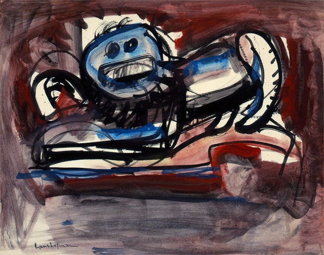 , 'Untitled (Scaredy Cat 11),' 1944, Adelson Cavalier Galleries