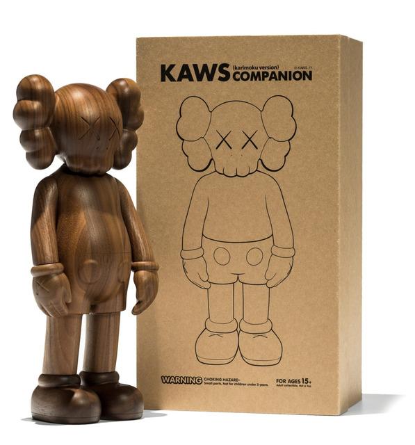 KAWS, 'Companion (Karimoku)', 2001, Sculpture, Wood, MSP Modern