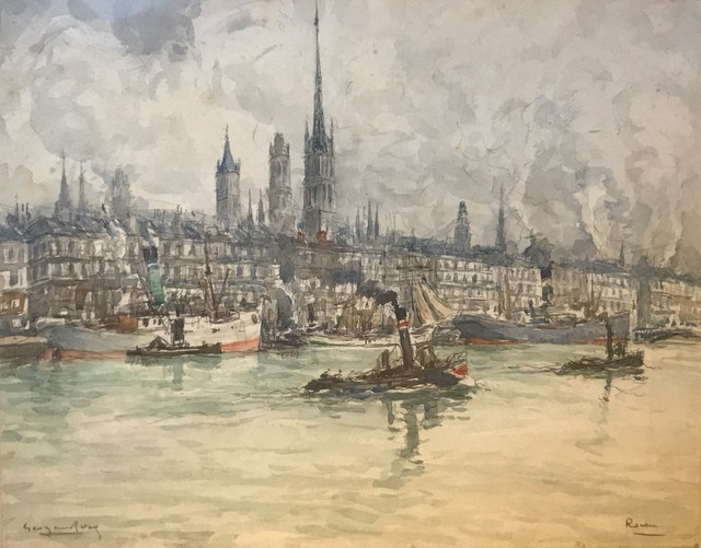 Georges Rose, 'Rouen', DIGARD AUCTION