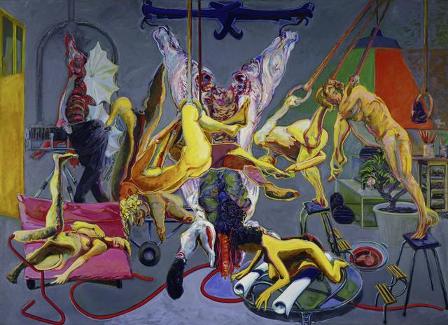 , 'Graues Atelier,' 1985, Faurschou Foundation