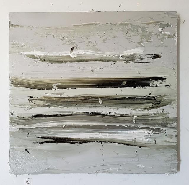 , 'Untitled (Olive Green Deep / Titanium White),' 2017, Mimmo Scognamiglio / Placido