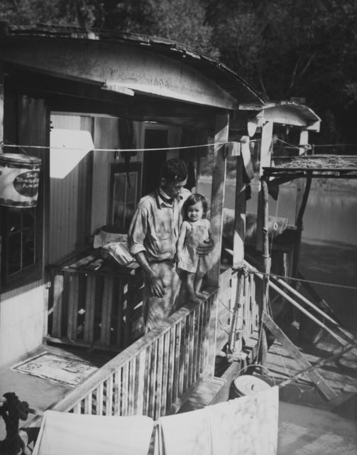 Eudora Welty, 'Houseboat Family, Pearl River', 1939, Jackson Fine Art