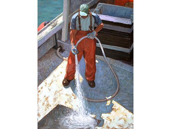 , 'The Sea Spray ,' , Addison Art Gallery