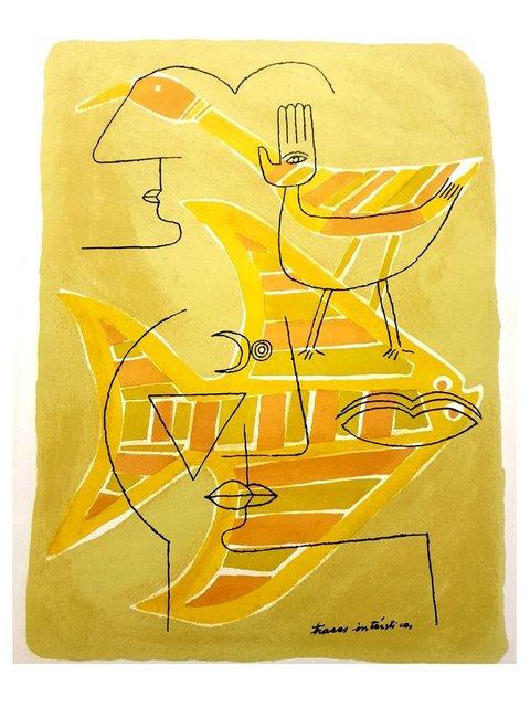 Victor Brauner, 'Victor Brauner - Ancient Egypt - Original Lithograph', 1963, Galerie Philia