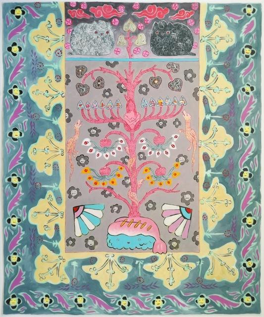 , 'Tree of vices (greed),' 2017, Barnard