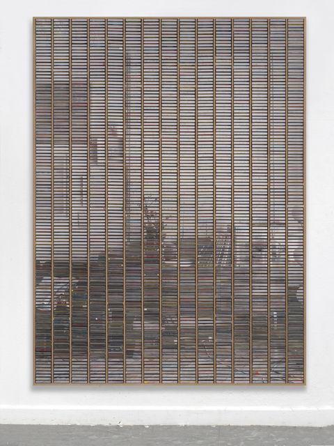 """Gregor Hildebrandt, '""""Wohnzimmer rechter Teil Stirnwand""""', 2019, Almine Rech"""