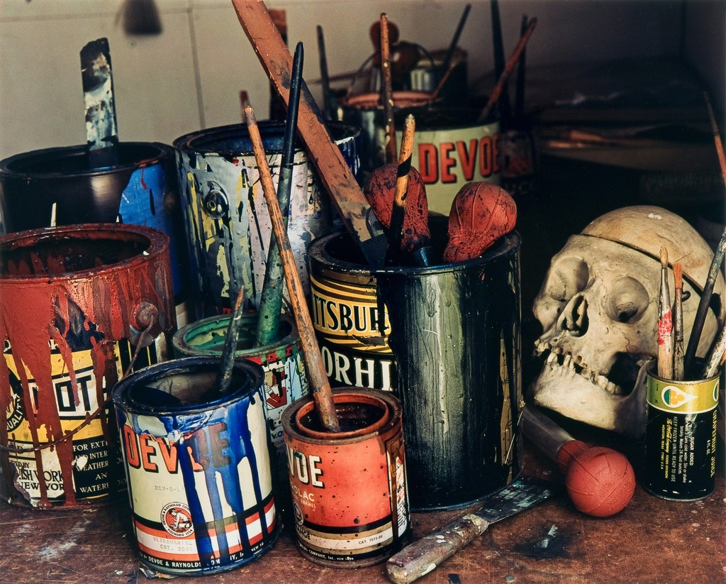 Jackson Pollock's Paints, Long Island