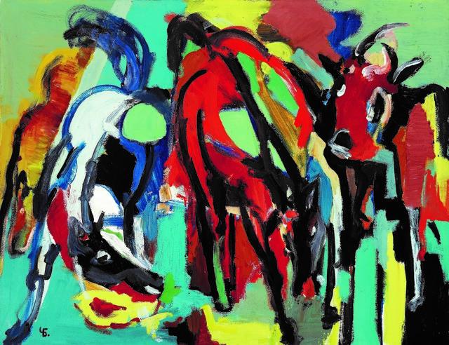 , 'Corrida,' 1990, Vail International Gallery