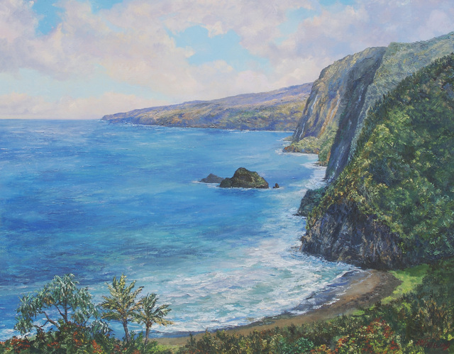 , 'Pololu Valley,' 2018, Tiffany's Art Agency
