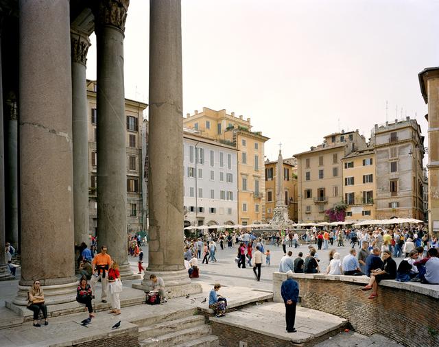 , 'Piazza dell Rotonda, Rome,' 2002, Benrubi Gallery