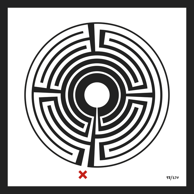, 'Labyrinth #58 Baker Street,' 2013, Galerie Krinzinger
