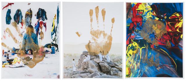 Korakrit Arunanondchai, 'Untitled, (three works)', 2014, John Moran Auctioneers