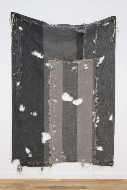 , 'Stripe Patch (Selvedge),' 1988, Western Exhibitions