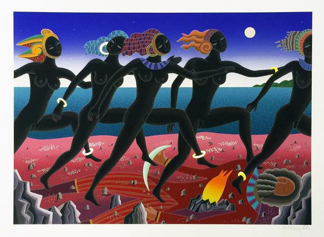 Thomas Mcknight, 'RUNNING NUBIAN', 1994, Gallery Art