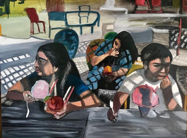, 'Raspa Kids,' 2018, Cinnabar