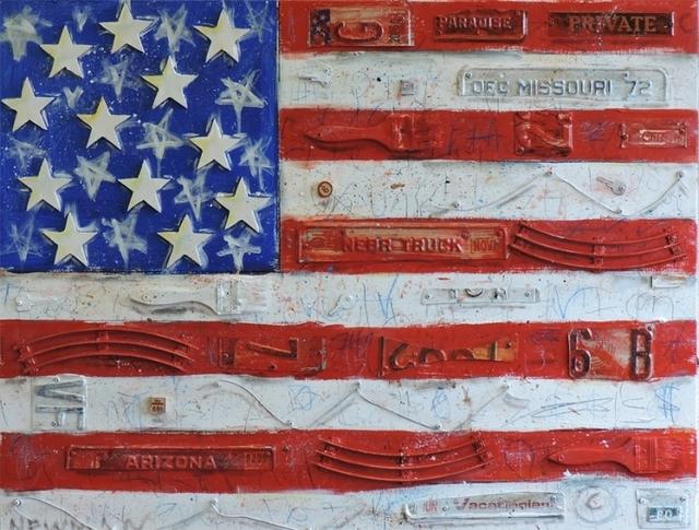 , 'Flag Series,' 2018, Xanadu Gallery