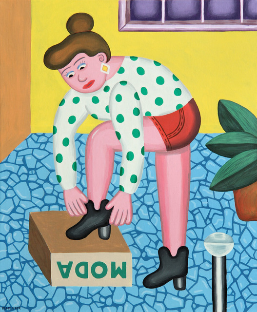 , 'New Shoes,' 2014, Patrick Parrish Gallery