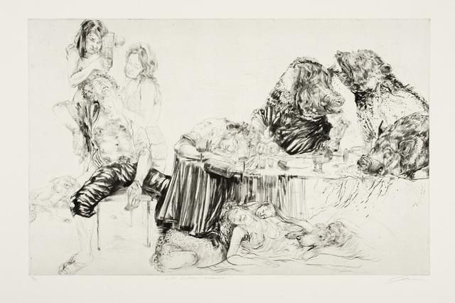 , 'Last Supper (Enswined),' 2011, C. Grimaldis Gallery