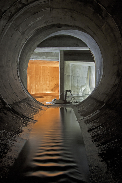 , 'Wilket Creek Storm Trunk Sewer, From the series Water Underground,' 2013, Circuit Gallery