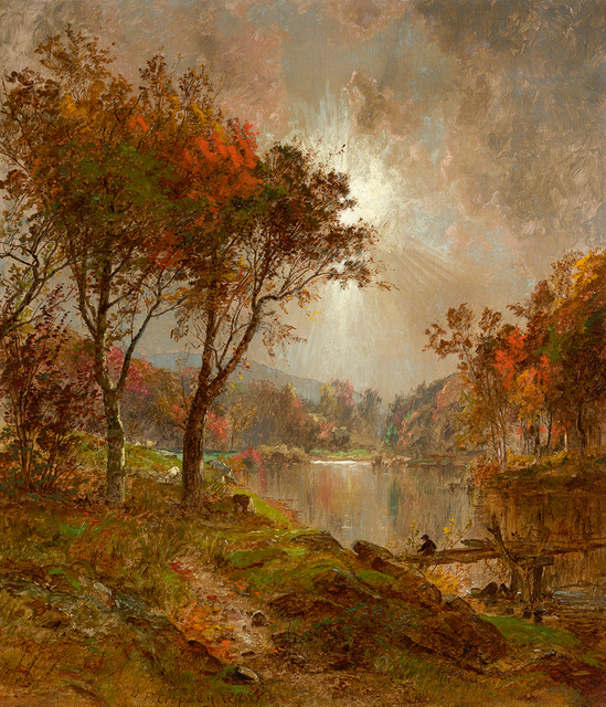 , 'On the Ramapo River,' 1888, Questroyal Fine Art