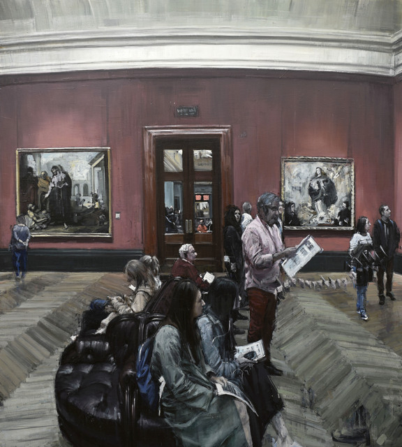 """Valerio D'Ospina, '""""The V Room (National Gallery)""""', 2018, The Haen Gallery"""