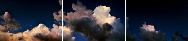 , 'Storm Cloud over Boston Harbor, Dark Sky 8:02pm,' 2014, 555 Gallery