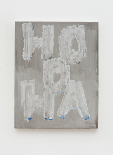 , 'HOOHA,' 2017, Pékin Fine Arts