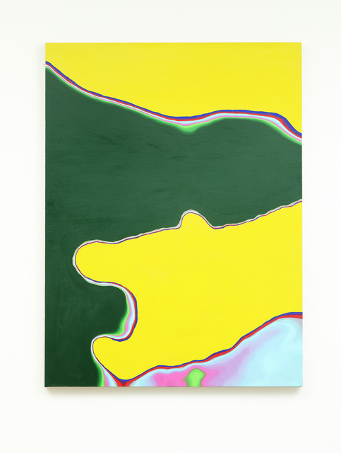 Sebastian Black, 'Yellow gesture', 2021, Painting, Oil on linen, Various Small Fires