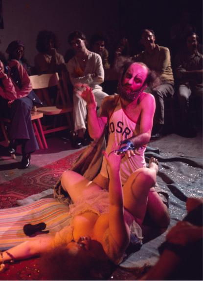 """, 'Charles Ludlam's """"When Queens Collide"""", The Millenium,' 1969-1995, Herlitzka + Faria"""