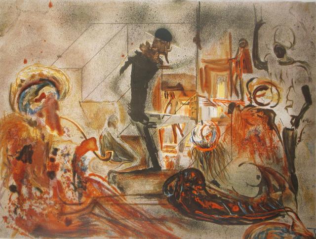 Salvador Dalí, 'Studio of Dali', 1965, Print, Lithograph, DTR Modern Galleries