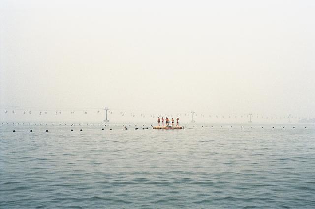 , 'Le ponton,' 2014, galerie SIT DOWN