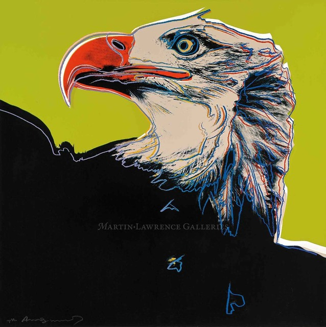 Andy Warhol, 'Bald Eagle, 1983 (#296, Endangered Species)', 1983, Martin Lawrence Galleries