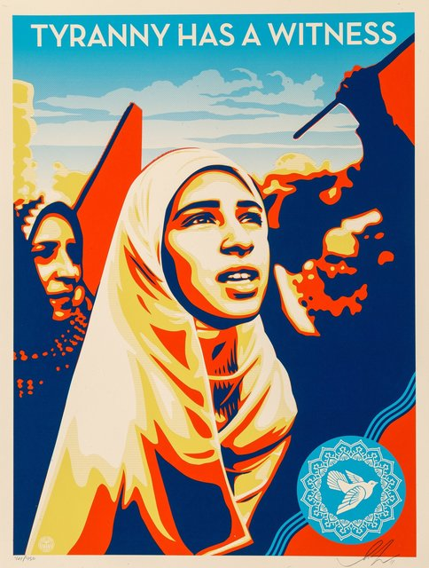 Shepard Fairey, 'Tyranny Has a Witness', 2011, Heritage Auctions