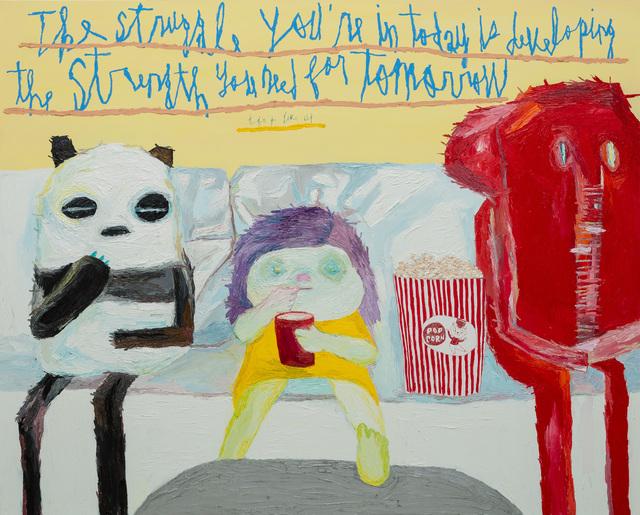 , 'Struggle,' 2018, Gallery BK