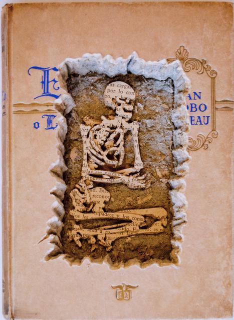 , 'No es su tumba, es lamía,' 2014, Galería Doce Cero Cero