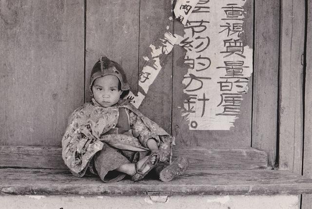 , 'Chine, Enfant assis,' 1957, Galerie Nathalie Obadia
